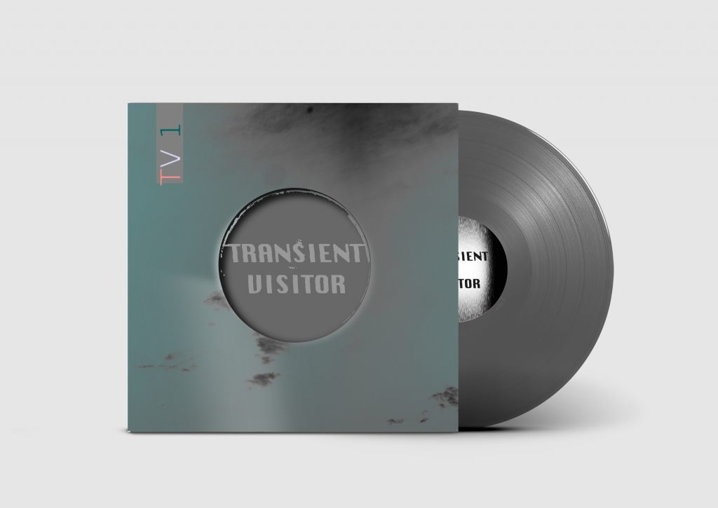 Transient Visitor TV1 - silver grey vinyl pressing